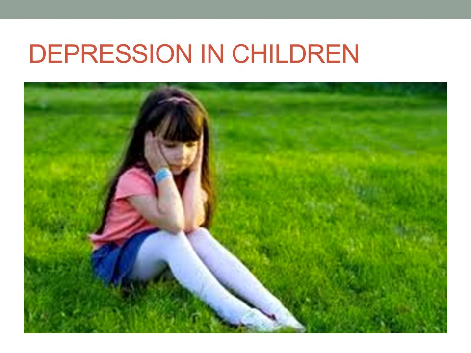 DEPRESSION IN CHILDREN