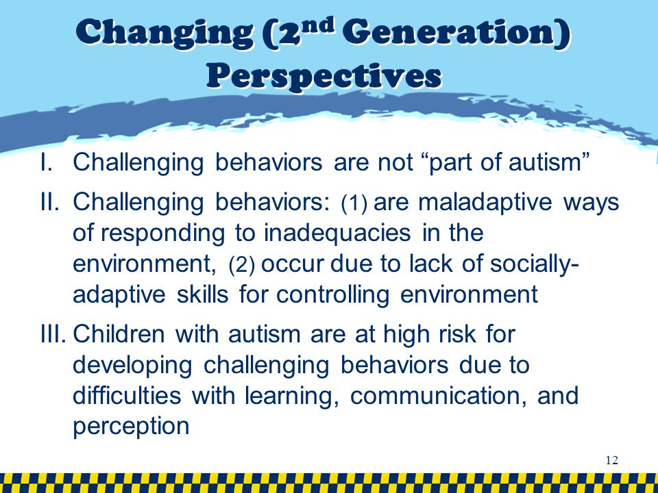 Changing (2nd Generation) Perspectives