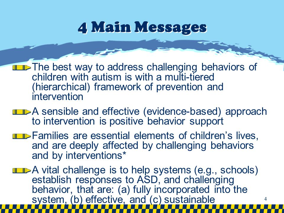 4 Main Messages