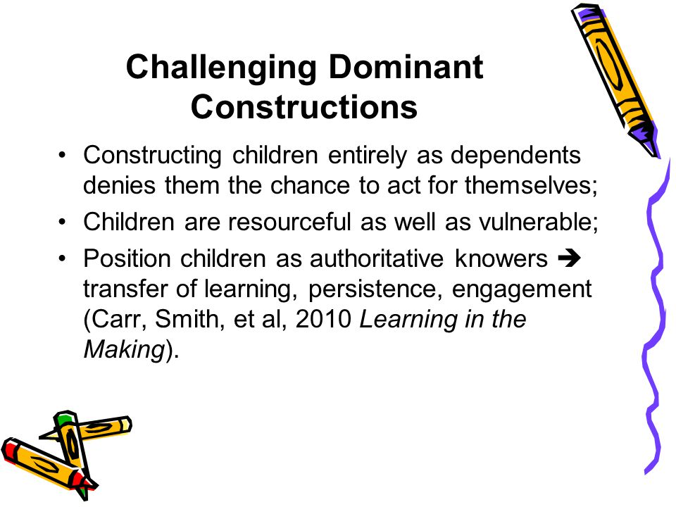 Challenging Dominant Constructions
