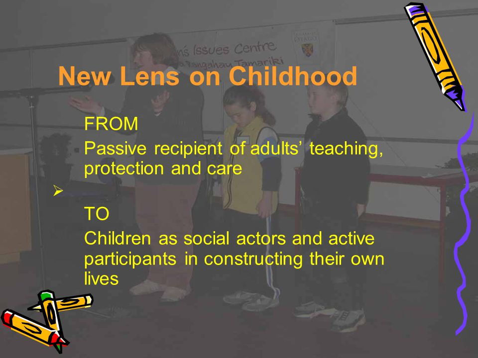 New Lens on Childhood FROM