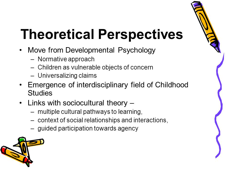 10 perspectives of early psychology essay A social psychological perspective on educational intervention  corresponding  figures for african americans and latino americans were, respectively, 10 and.
