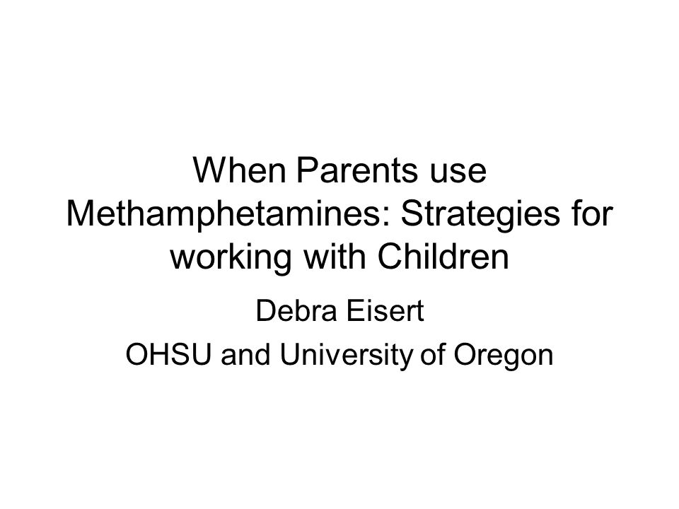 Debra Eisert OHSU and University of Oregon