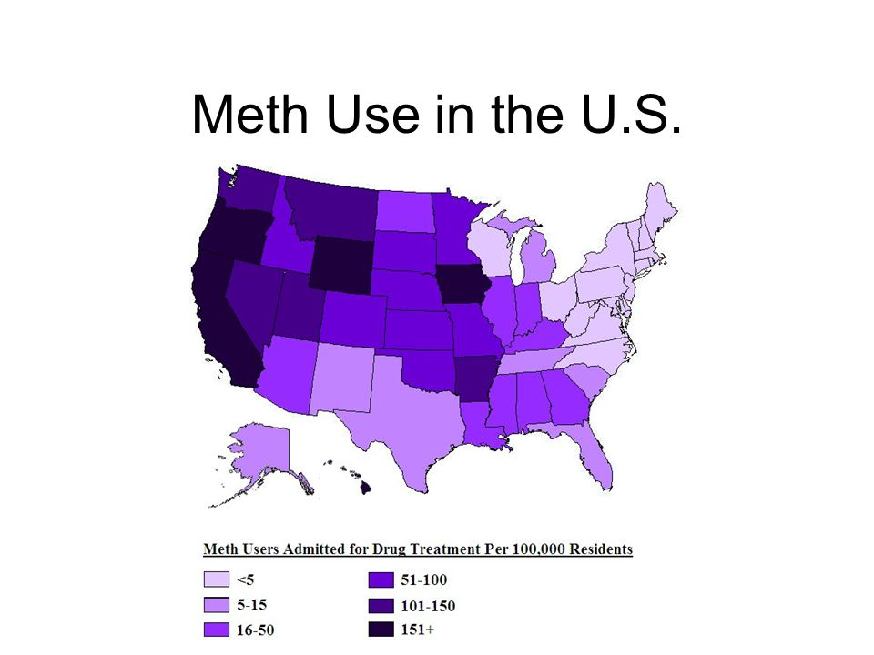 Meth Use in the U.S.