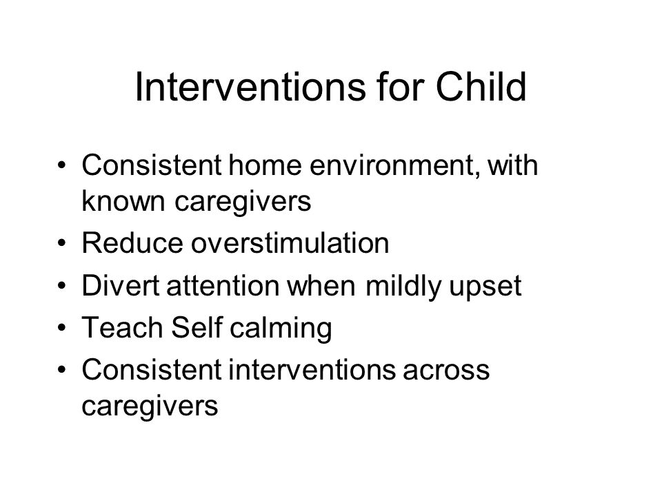 Interventions for Child