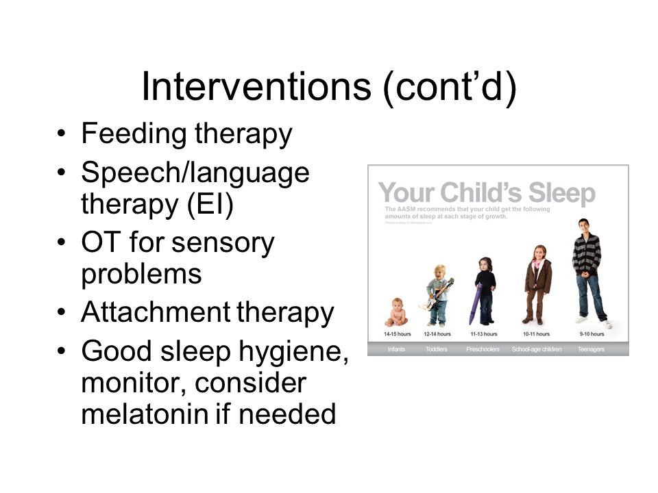 Interventions (cont'd)