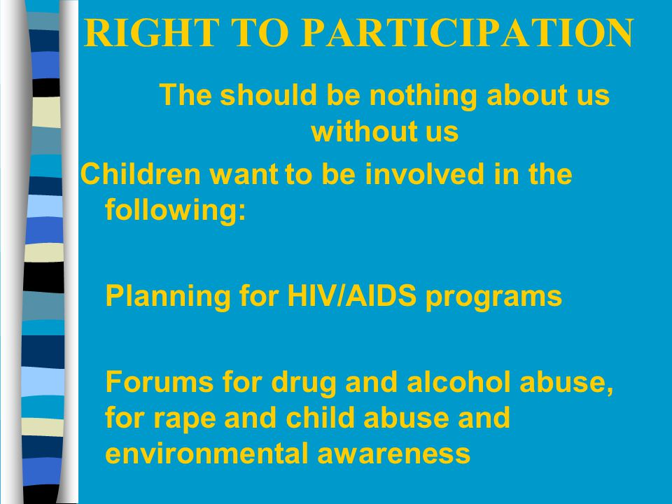 RIGHT TO PARTICIPATION