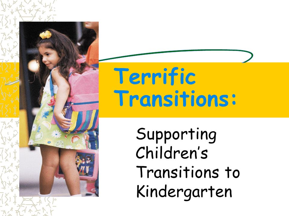 Terrific Transitions: