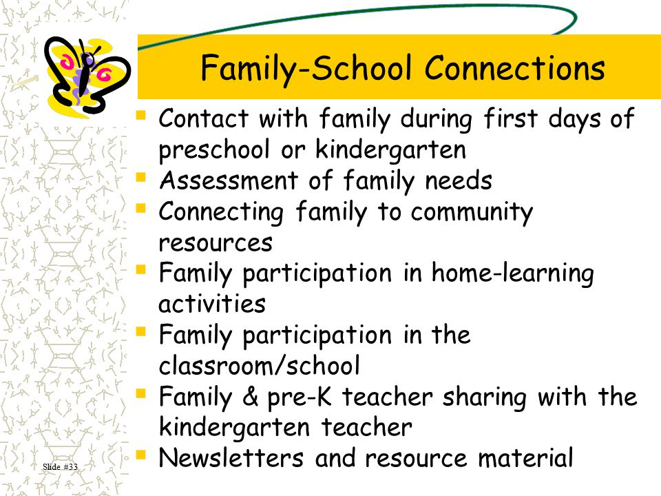 Family-School Connections
