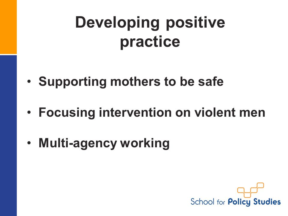 Developing positive practice