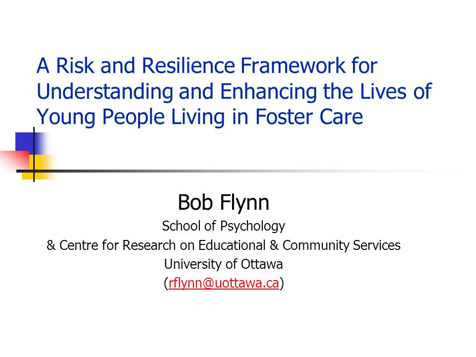 & Centre for Research on Educational & Community Services