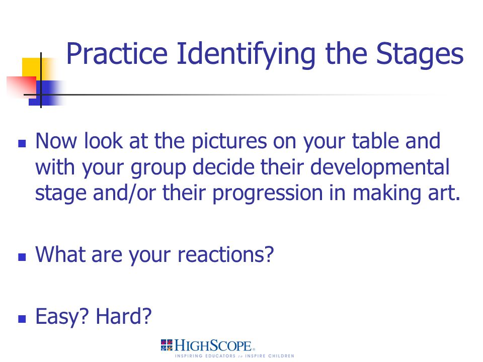 Practice Identifying the Stages