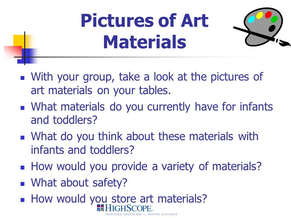 Pictures of Art Materials