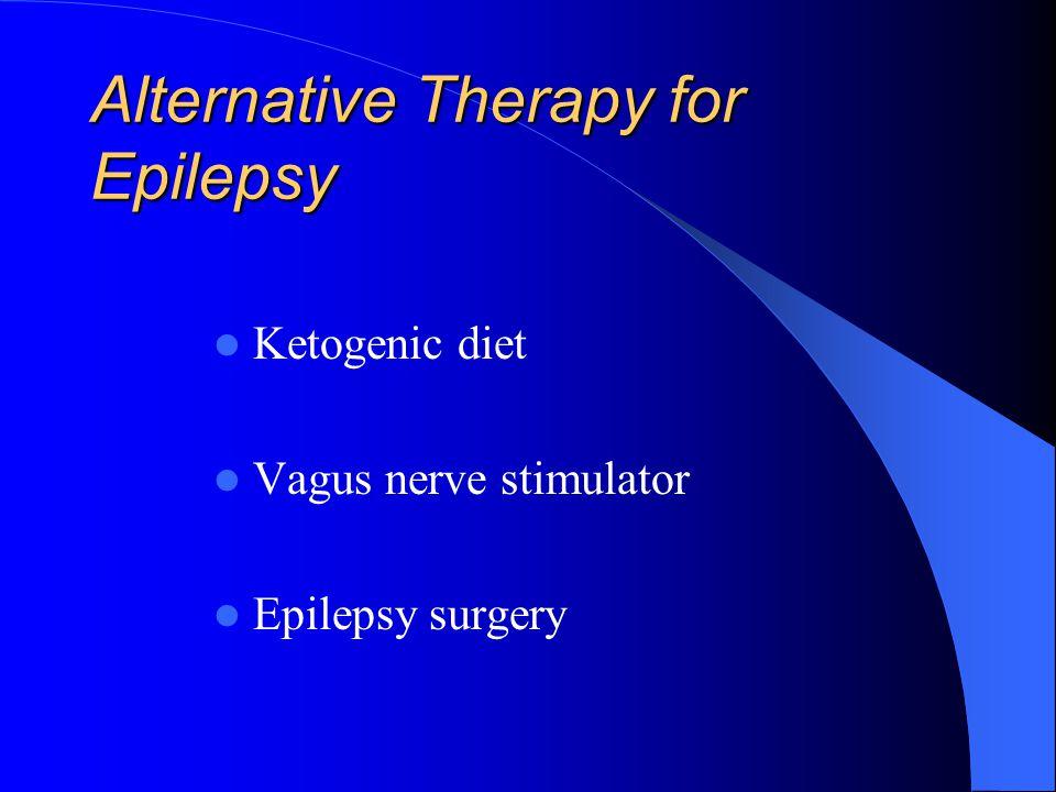 Alternative Therapy for Epilepsy