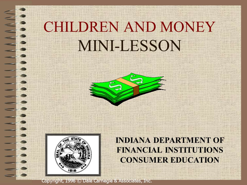 children and money mini lesson ppt video online download. Black Bedroom Furniture Sets. Home Design Ideas