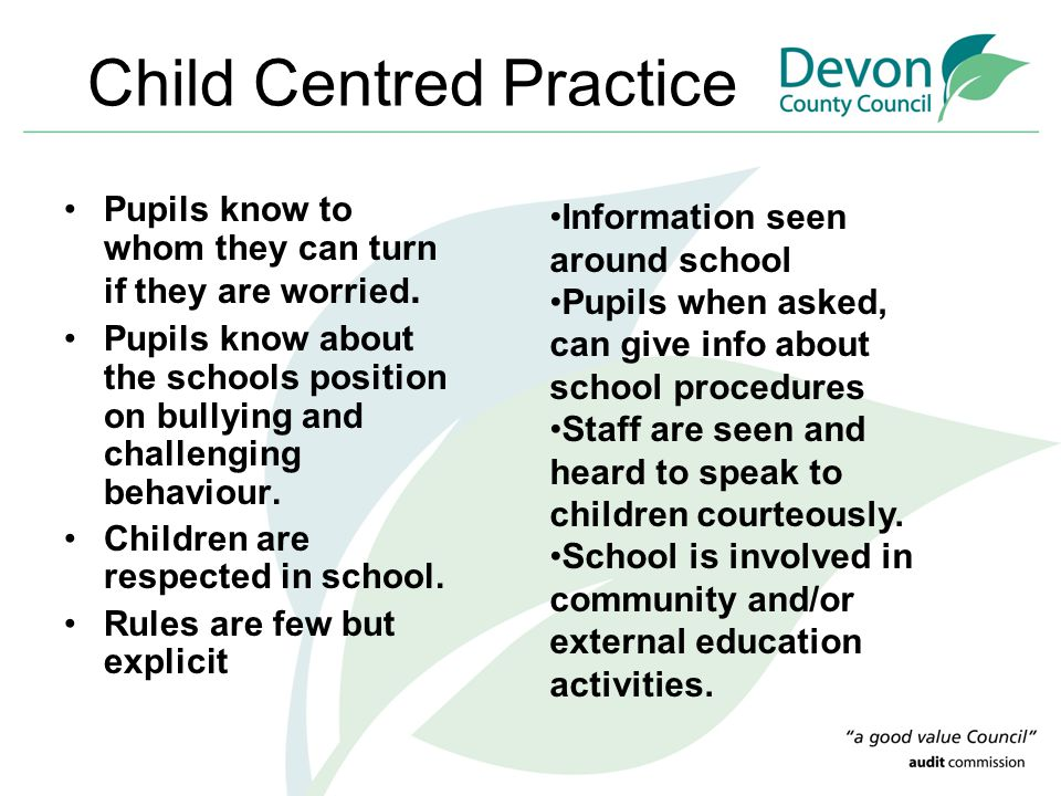 Child Centred Practice