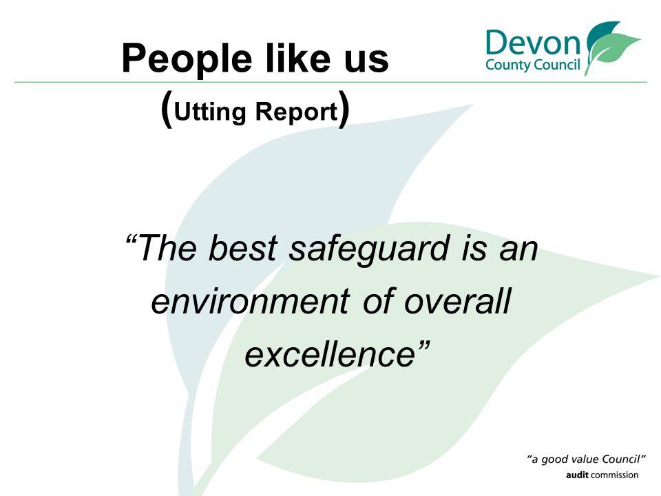 People like us (Utting Report)