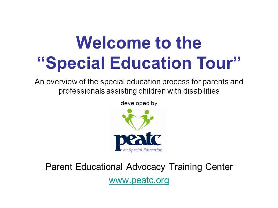 Parent Educational Advocacy Training Center www.peatc.org