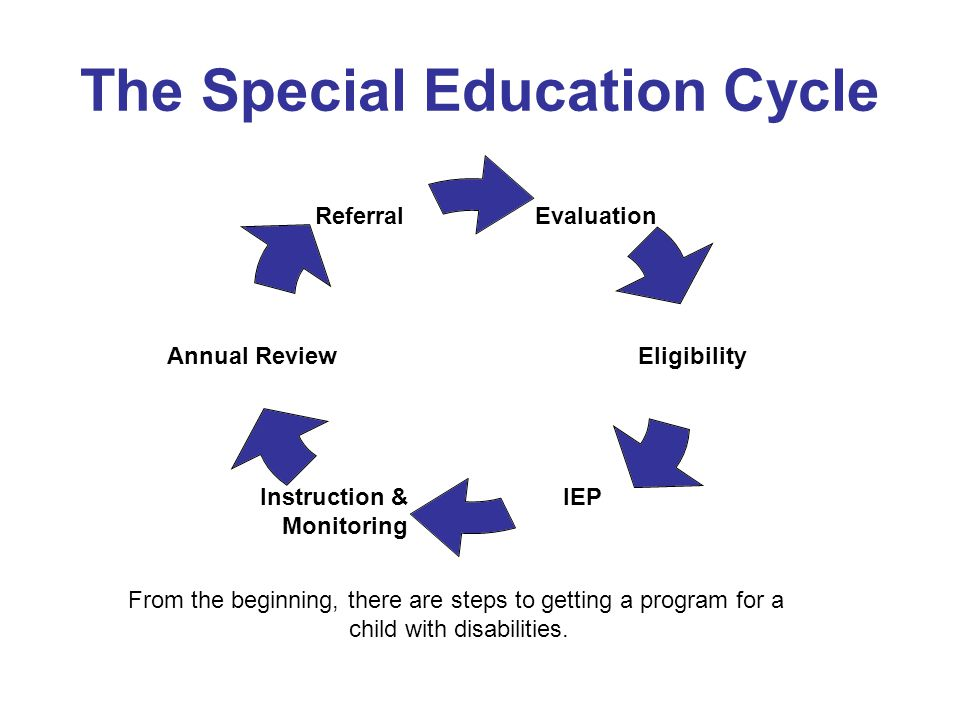 The Special Education Cycle