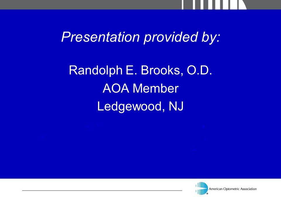 Presentation provided by: