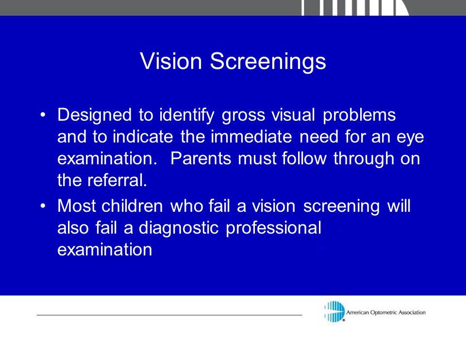 Vision Screenings