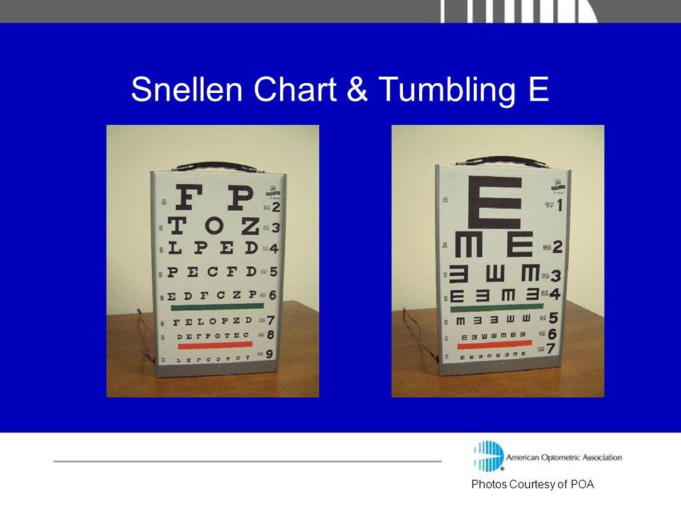 Snellen Chart & Tumbling E