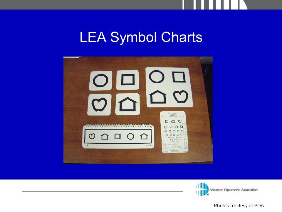 LEA Symbol Charts Photos courtesy of POA