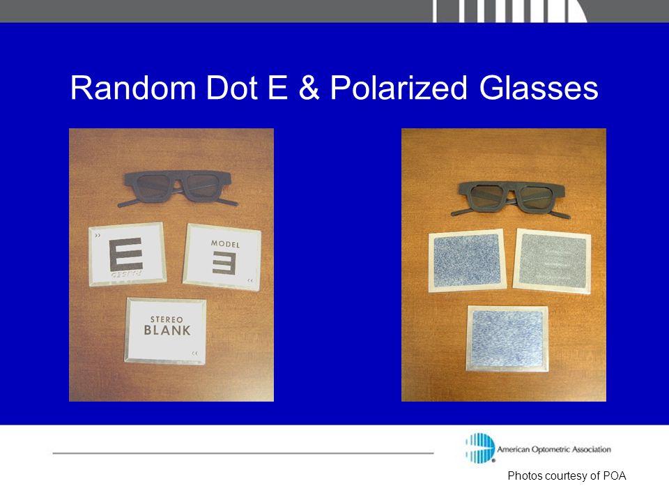 Random Dot E & Polarized Glasses