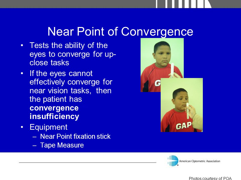 Near Point of Convergence