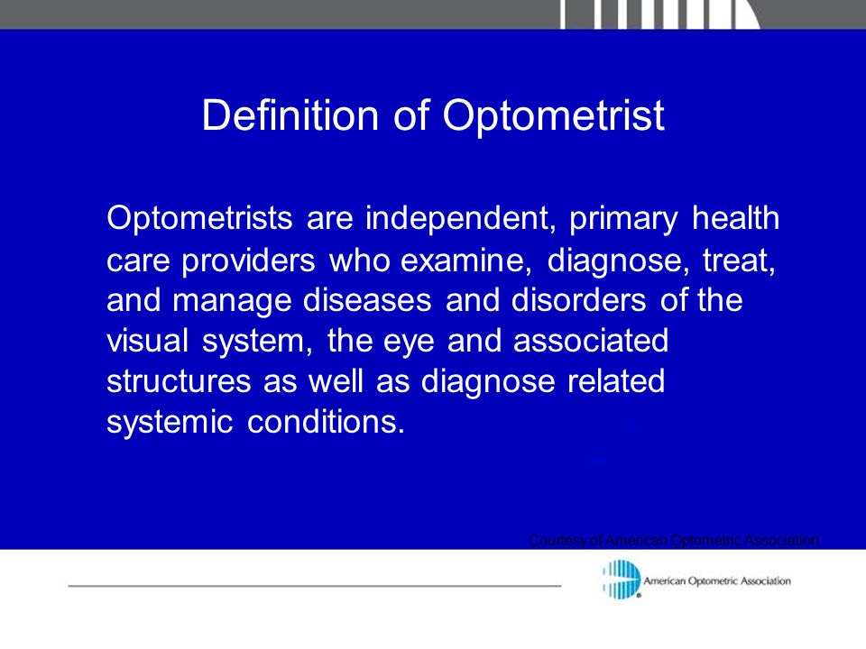 Definition of Optometrist