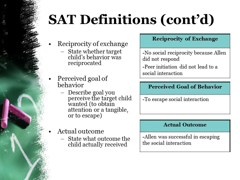 SAT Definitions (cont'd)