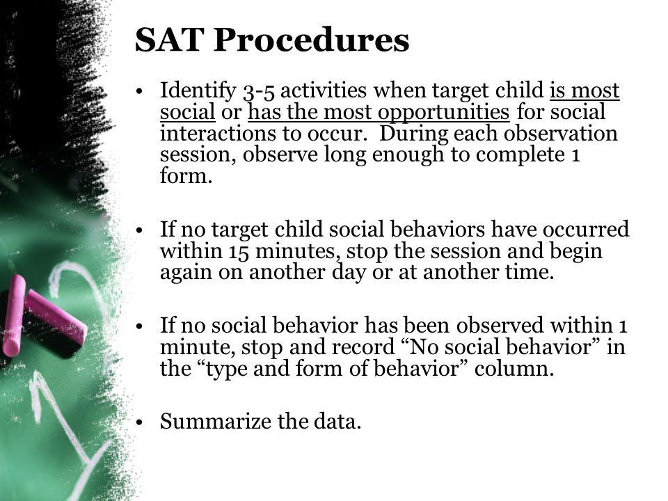 SAT Procedures