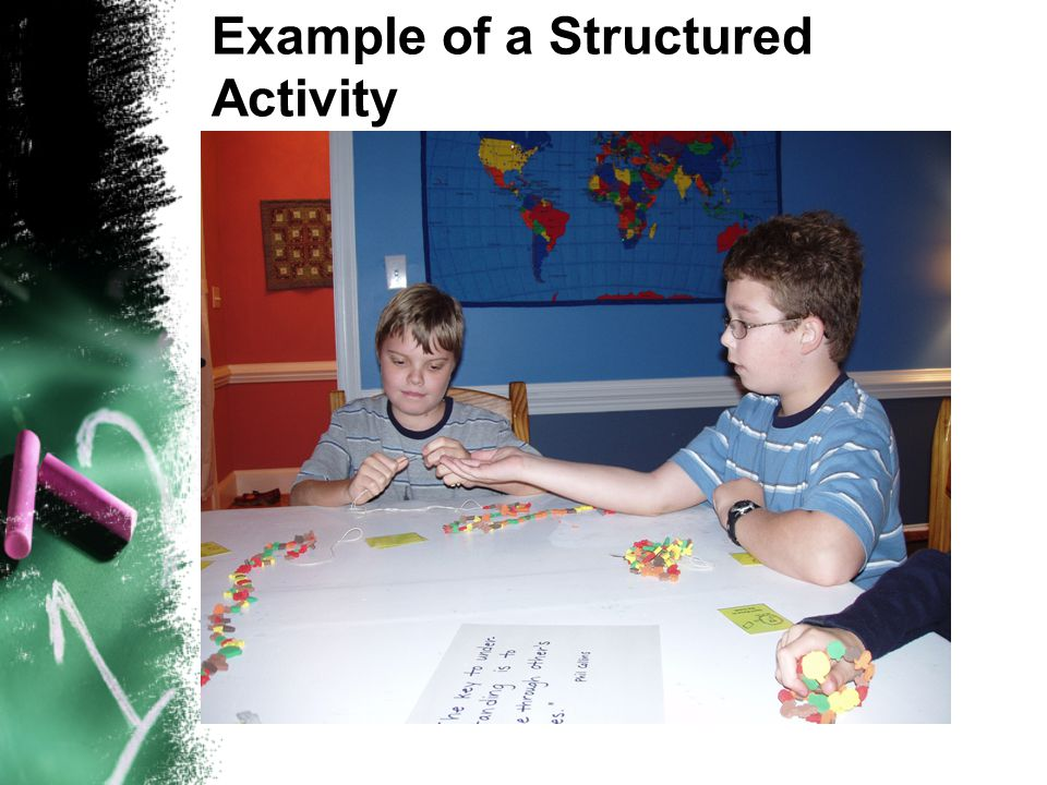 Example of a Structured Activity