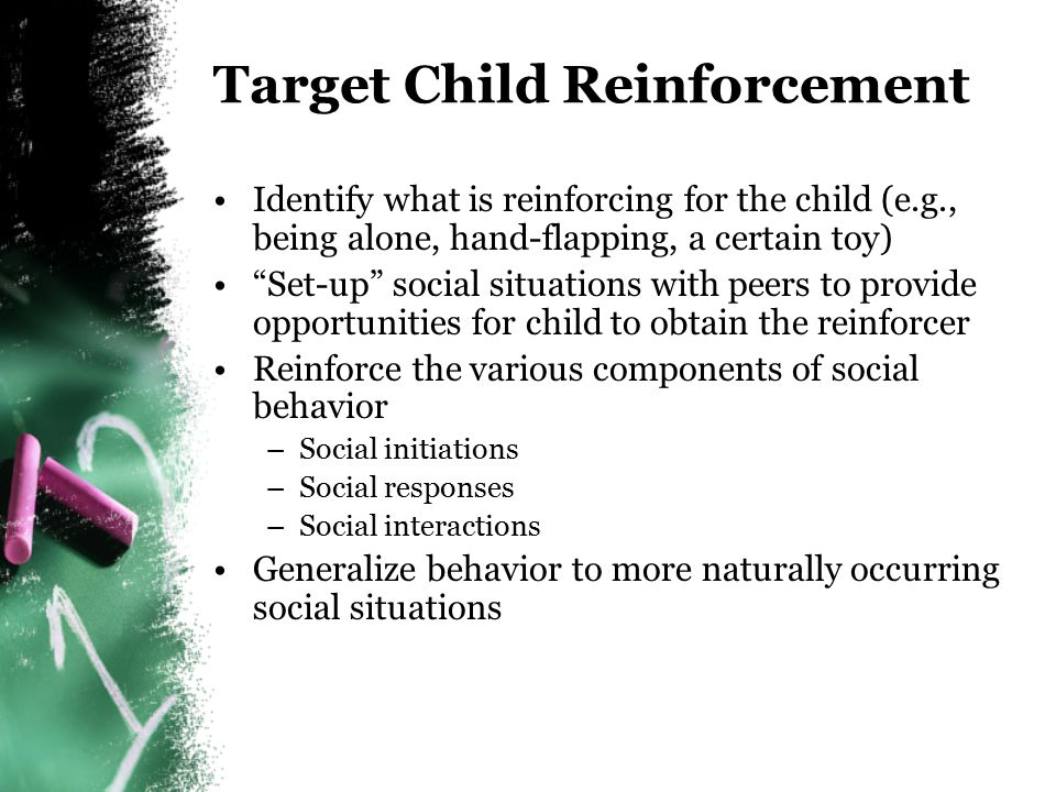 Target Child Reinforcement