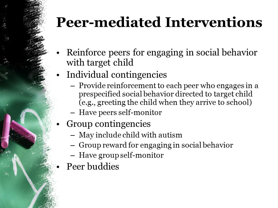 Peer-mediated Interventions