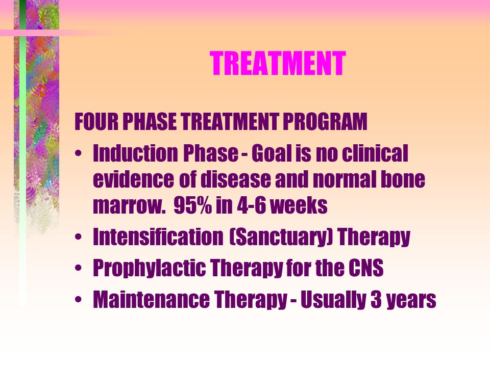 TREATMENT FOUR PHASE TREATMENT PROGRAM