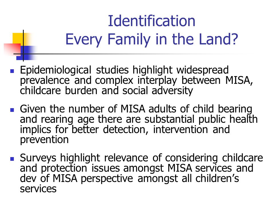 Identification Every Family in the Land