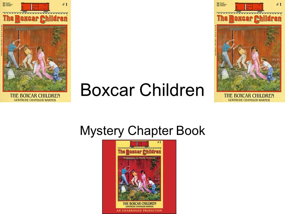 Boxcar Children Mystery Chapter Book
