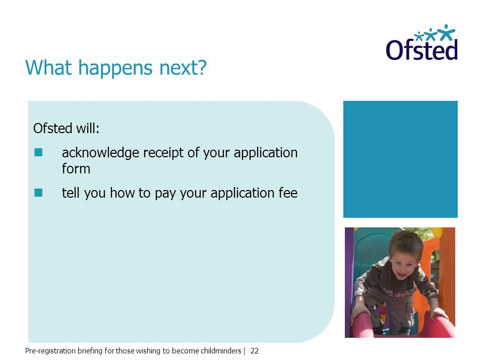 What happens next Ofsted will:
