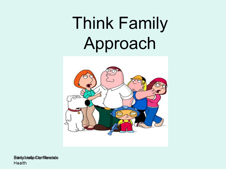 Think Family Approach Introduction to Mental Health