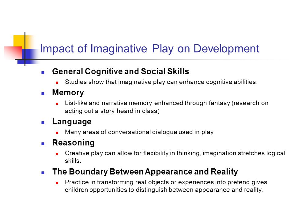 Impact of Imaginative Play on Development