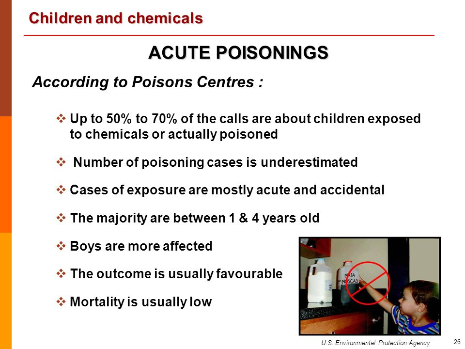 ACUTE POISONINGS According to Poisons Centres :