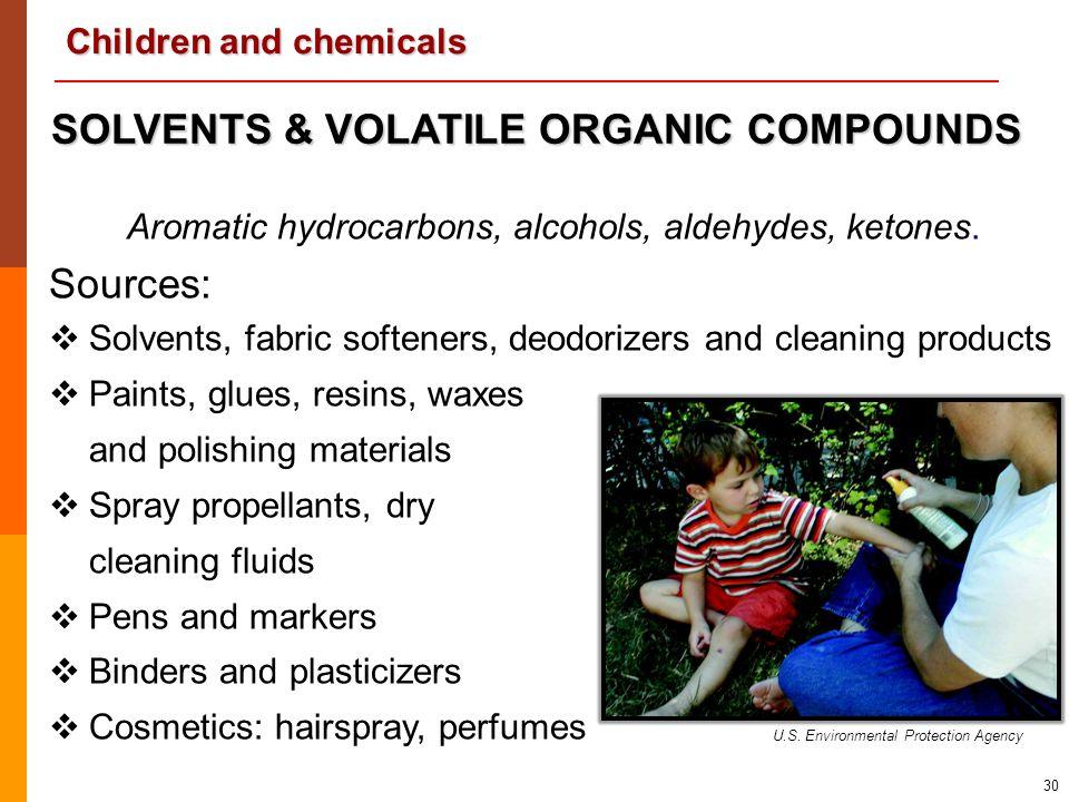 SOLVENTS & VOLATILE ORGANIC COMPOUNDS