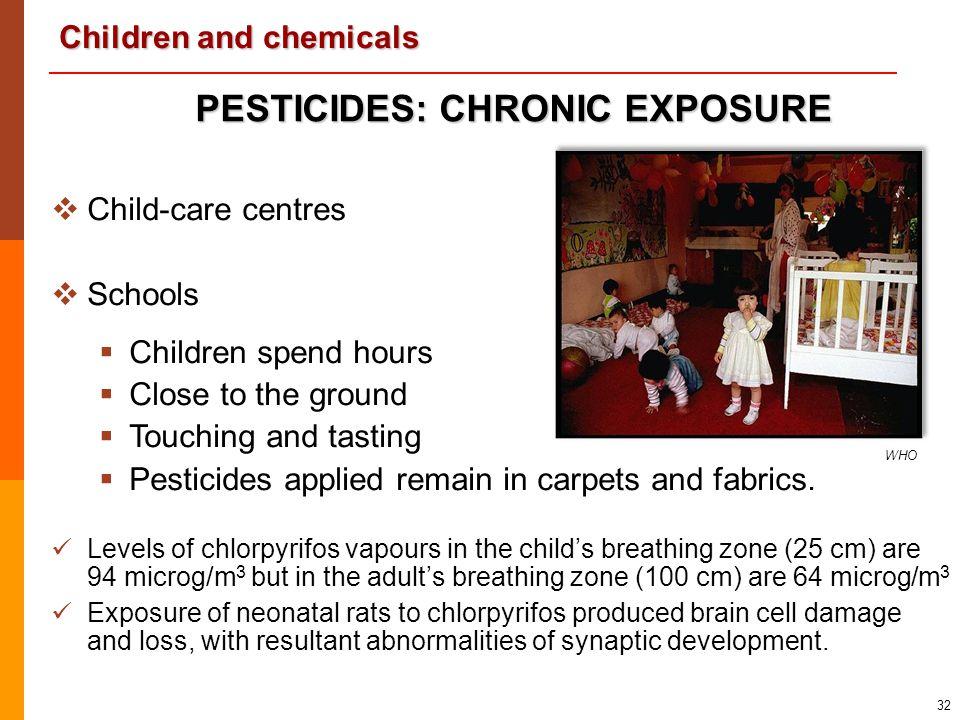 PESTICIDES: CHRONIC EXPOSURE