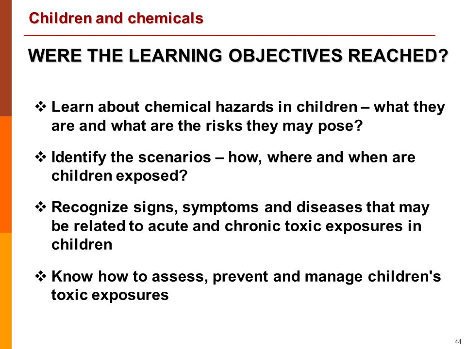 WERE THE LEARNING OBJECTIVES REACHED