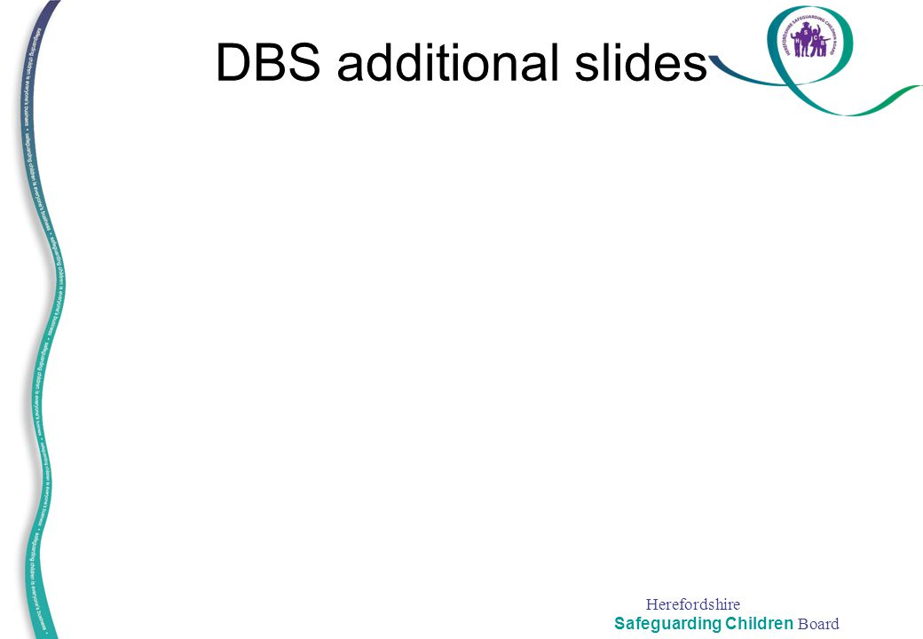 DBS additional slides