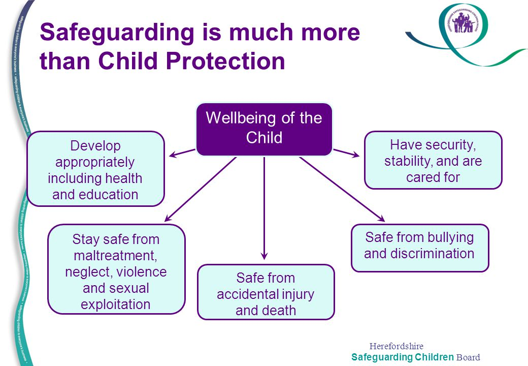 Safeguarding is much more than Child Protection