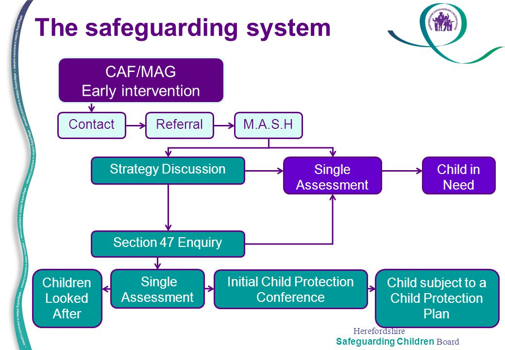 The safeguarding system