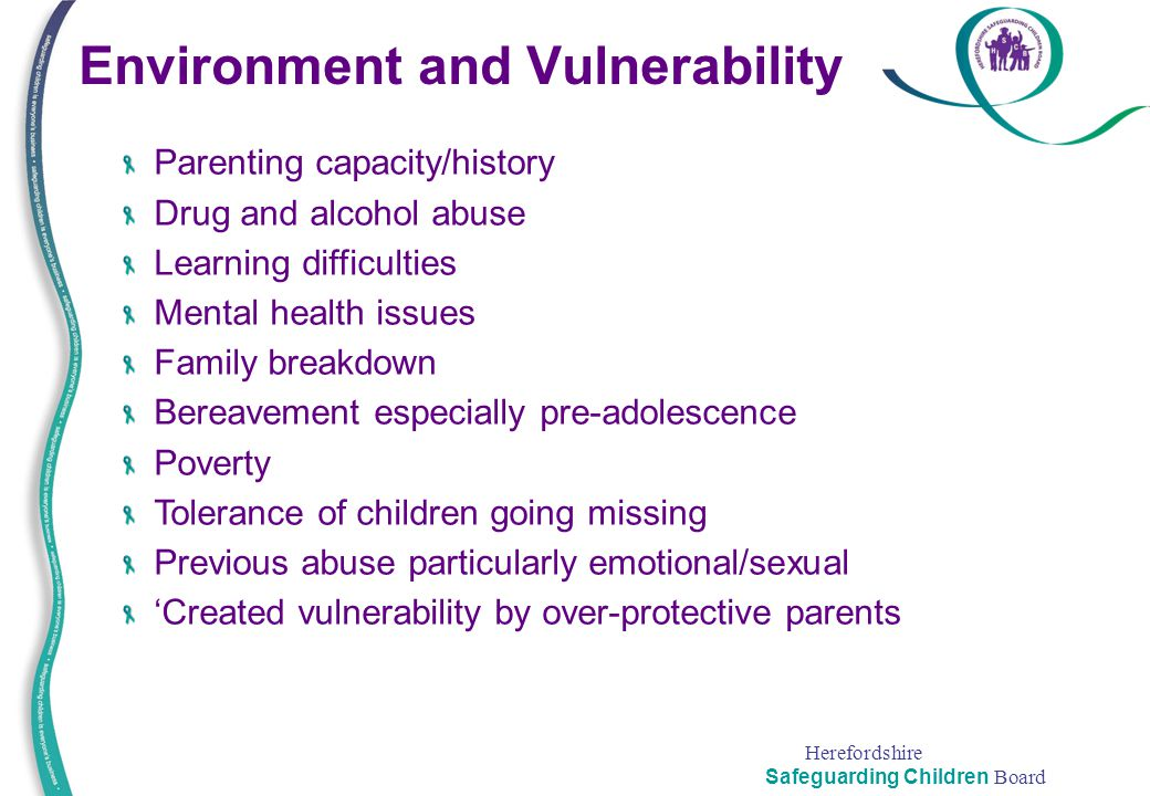 Environment and Vulnerability