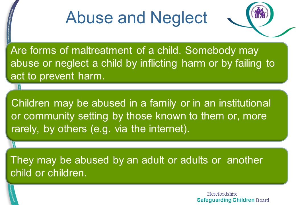 Abuse and Neglect